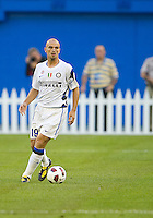 August 03 2010 Inter Milan FC midfielder Esteban Cambiasso No. 19 in action during an international friendly between Inter Milan FC and Panathinaikos FC at the Rogers Centre in Toronto..Final score was 3-2 for Panathinaikos FC.