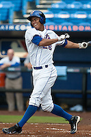 Pedro Zapata #26 of the St. Lucie Mets during game 3 of the Florida State League Championship Series against the Daytona Cubs at Digital Domain Park on Spetember 11, 2011 in Port St. Lucie, Florida. Daytona won the game 4-2 to win the Florida State League Championship.  Photo by Scott Jontes / Four Seam Images
