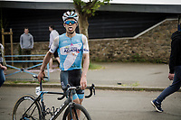 Guillaume Boivin (CAN/Israel Cycling Academy) post-race<br /> <br /> 36th TRO BRO LEON 2019 (FRA)<br /> One day race from Plouguerneau to Lannilis (205km)<br /> <br /> ©kramon