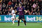 FC Barcelona's Luis Suarez during La Liga match between Rayo Vallecano and FC Barcelona at Vallecas Stadium in Madrid, Spain. November 03, 2018. (ALTERPHOTOS/A. Perez Meca)