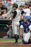June 26th 2008:  Cole White of the State College Spikes, Class-A affiliate of the Pittsburgh Pirates, during a game at Falcon Park in Auburn, NY.  Photo by:  Mike Janes/Four Seam Images