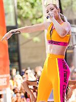 NEW YORK CITY, NY, USA - AUGUST 08: Singer Iggy Azalea Performs On NBC's 'Today' at Rockefeller Plaza on August 8, 2014 in New York City, New York, United States. (Photo by Jeffery Duran/Celebrity Monitor)