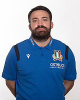 Ritratti Nazionale Italiana Rugby<br /> Photo Antonietta Baldassarre / Insidefoto / Sportit / Federazione Italiana Rugby<br /> 19/10/2020 <br /> Niccolò Gori <br /> Copyright Federazione Italiana Rugby Use of this picture is allowed only previous permission of Federazione Italiana Rugby