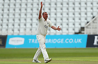 Luke Fletcher of Nottinghamshire appeals for the wicket of Adam Wheater during Nottinghamshire CCC vs Essex CCC, LV Insurance County Championship Group 1 Cricket at Trent Bridge on 6th May 2021