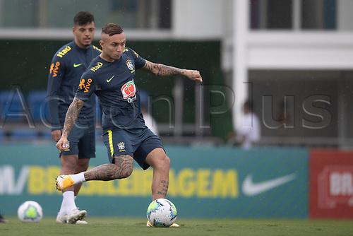 11th November 2020; Granja Comary, Teresopolis, Rio de Janeiro, Brazil; Qatar 2022 qualifiers; Everton of Brazil during training session in Granja Comary