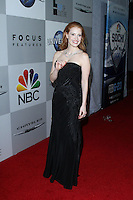 BEVERLY HILLS, CA - JANUARY 12: Jessica Chastain at the NBC Universal 71st Annual Golden Globe Awards After Party held at The Beverly Hilton Hotel on January 12, 2014 in Beverly Hills, California. (Photo by David Acosta/Celebrity Monitor)