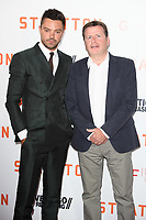 """Dominic Cooper and director, Simon West<br /> at the """"Stratton"""" premiere, Vue West End, Leicester Square London. <br /> <br /> <br /> ©Ash Knotek  D3300  29/08/2017"""
