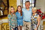 Jimmy Adams from Tralee celebrating his 60th birthday with his family in the Brogue Inn on Friday.<br /> L to r: Claire Adams Horgan, Maura, Jimmy and Patricia Adams