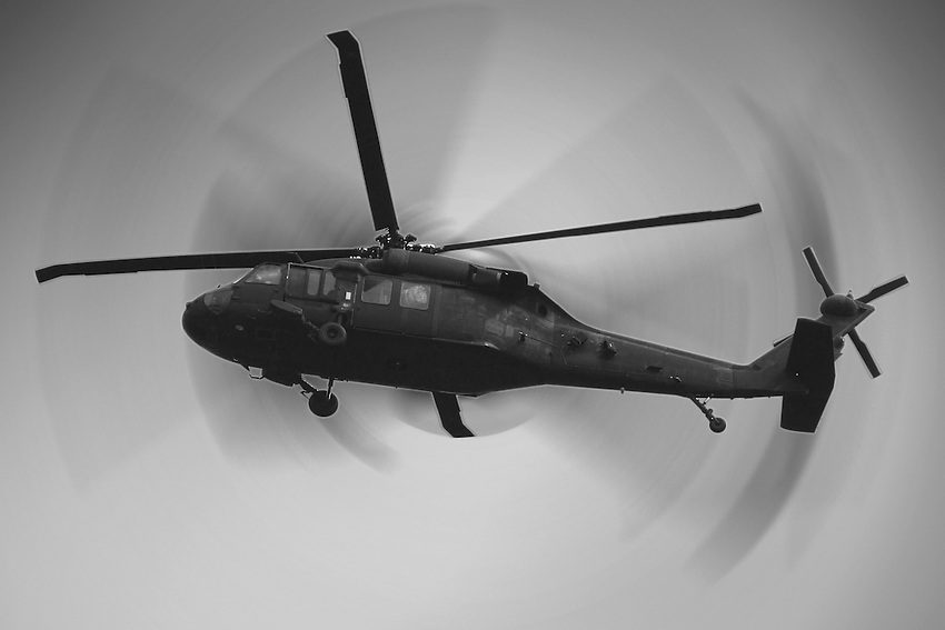 Military Helicopter out of Fort Hood, Texas.