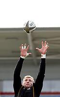18th March 2021;  Kieran Treadwell during Ulster Rugby Captain's Run held at Kingspan Stadium, Ravenhill Park, Belfast, Northern Ireland. Photo by John Dickson/Dicksondigital
