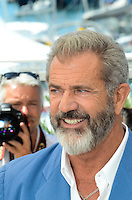Mel Gibson attend the 'Blood Father' photocall during the 69th annual Cannes Film Festival at Palais des Festivals on May 21, 2016 in Cannes, France.