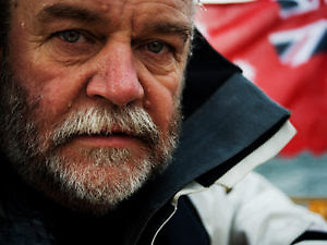Don McIntyre founder of the Ocean Globe Race (OGR) and the Golden Globe Race (GGR).