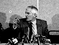 January 9,1986 File Photo - John Turner, Leader, Liberal Party of canada
