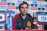 Spain coach Julen Lopetegui during press conference the day before Spain and Argentina match at Wanda Metropolitano in Madrid , Spain. March 26, 2018. (ALTERPHOTOS/Borja B.Hojas) /NortePhoto NORTEPHOTOMEXICO