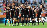 USA Women vs Brazil July 10 2011