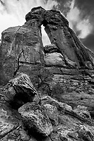 Druid Arch at Islands in the Sky of Canyonlands National Park, Utah