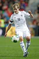 Finland's Pukki during international match of the qualifiers for the FIFA World Cup Brazil 2014.March 22,2013.(ALTERPHOTOS/Acero)