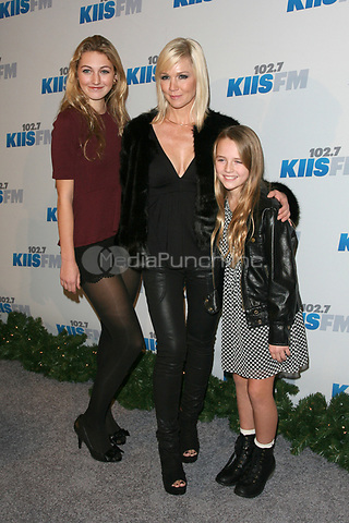 LOS ANGELES, CA - DECEMBER 01: Luca Bella Facinelli Jennie Garth and Lola Ray at KIIS FM's 2012 Jingle Ball at Nokia Theatre L.A. Live on December 1, 2012 in Los Angeles, California. Credit: mpi21/MediaPunch Inc.