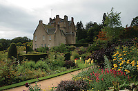 Crathes Castle and Gardens, Banchory, Aberdeenshire<br /> <br /> Copyright www.scottishhorizons.co.uk/Keith Fergus 2011 All Rights Reserved