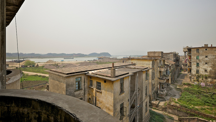 View To Fraser Hill From The Third Floor Of The Sanshui (Samshui) Custom House.