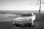 Knollwood Beach. Route 153. Maple Avenue. 1968 Cadillac. Long Island Sound.