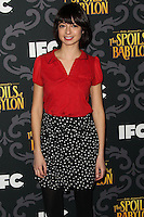 """LOS ANGELES, CA - JANUARY 07: Kate Micucci arriving at the Los Angeles Screening Of IFC's """"The Spoils Of Babylon"""" held at the Directors Guild Of America on January 7, 2014 in Los Angeles, California. (Photo by Xavier Collin/Celebrity Monitor)"""