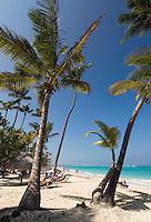 Dominikanische Republik, Strand von Bavaro in Punta Cana