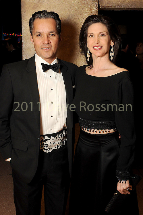 Karyn and Jay Guerrero at the Ole! A Night in Old Mexico Gala at the Museum of Natural Science Saturday March 05,2016.(Dave Rossman Photo)