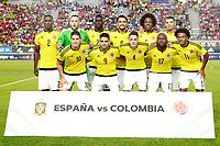 Colombia's team photo during international friendly match. June 7,2017.(ALTERPHOTOS/Acero) (NortePhoto.com) (NortePhoto.com)