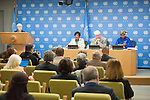 Press Conference on Sexual Violence in DRC