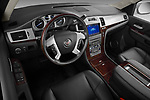 High angle dashboard view of a 2007 - 2014 Cadillac Escalade ESV Premium SUV