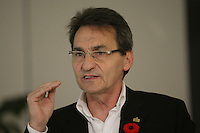 October 28 2012 - Montreal, Quebec, CANADA -  Richard Bergeron, leader Projet Montreal (municipal political party)