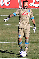 David Ospina of SSC Napoli<br /> during the friendly football match between SSC Napoli and SS Teramo Calcio 1913 at stadio Patini in Castel di Sangro, Italy, September 04, 2020. <br /> Photo Cesare Purini / Insidefoto