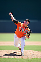 Baltimore Orioles pitcher Nick Jobst (41) during an Instructional League game against the Boston Red Sox on September 22, 2016 at the Ed Smith Stadium in Sarasota, Florida.  (Mike Janes/Four Seam Images)