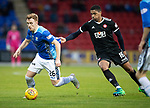 St Johnstone v Hamilton Accies…10.11.18…   McDiarmid Park    SPFL<br />Liam Craig is pulled back by Mason Bloomfield<br />Picture by Graeme Hart. <br />Copyright Perthshire Picture Agency<br />Tel: 01738 623350  Mobile: 07990 594431