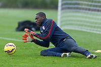 London, UK. - Sunday, November 16, 2014: U.S. Men's National Team Training at Tottenham Hotspur Training Centre.