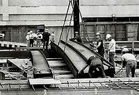 1980 FILE PHOTO - ARCHIVES -<br /> <br /> Canada - Ontario - Toronto - Banks - Bank of Montreal - Bay and King - Construction<br /> Bezant, Graham<br /> Picture, 1980,<br /> <br /> 1980<br /> <br /> PHOTO : Graham Bezant - Toronto Star Archives - AQP