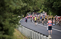 Team Mitchelton-Scott at the feedzone<br /> <br /> Stage 7: Vasto to L'Aquila (180km)<br /> 102nd Giro d'Italia 2019<br /> <br /> ©kramon