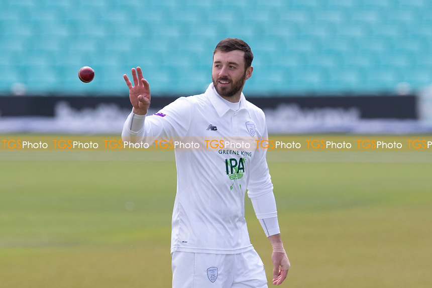 Jamie Vince of Hampshire CCC during Surrey CCC vs Hampshire CCC, LV Insurance County Championship Group 2 Cricket at the Kia Oval on 30th April 2021