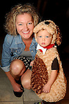 Kaycee Avery and Easton,2, at the M.D. Anderson Halloween party at The Galleria Sunday Oct 25, 2015.(Dave Rossman photo)