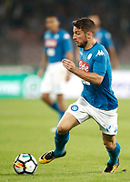 Calcio, Serie A: Napoli, stadio San Paolo, 21 ottobre 2017.<br /> Napoli's Dries Mertens in action during the Italian Serie A football match between Napoli and Inter at Napoli's San Paolo stadium, October 21, 2017.<br /> UPDATE IMAGES PRESS/Isabella Bonotto