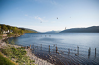 UK, Scotland,June 2012.Stunning views around the famous Loch Ness. No sign of the monster?...Photo Kees Metselaar