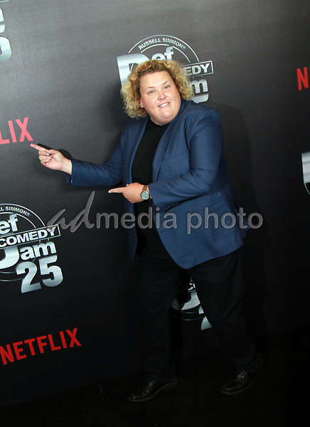 """10 September 2017 - Beverly Hills, California - Fortune Feimster. Netflix """"Def Comedy Jam 25"""" held at The Beverly Hilton. Photo Credit: Theresa Bouche/AdMedia"""
