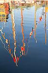 Port Townsend, signal flags, Wooden Boat Festival, Port Hudson Marina, boat harbor, classic sailboats, Olympic Peninsula, Washington State, Pacific Northwest, USA,