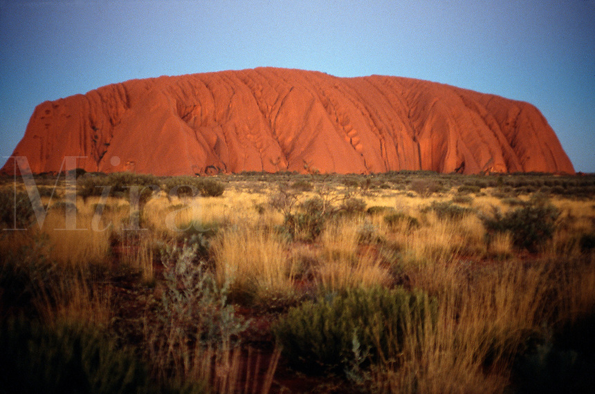 Uluru, (Ayers Rock), Uluru National Park, Northern Territory, Australia.