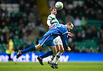 Celtic v St Johnstone....26.12.10  .Dave Mackay and Thomas Rogne.Picture by Graeme Hart..Copyright Perthshire Picture Agency.Tel: 01738 623350  Mobile: 07990 594431