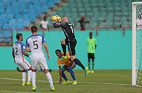 St. Vincent and the Grenadines - September 2, 2016: The U.S. Men's National team take a 3-0 lead over St. Vincent and the Grenadines in a World Cup Qualifier (WCQ) match at Arnos Vale Stadium.