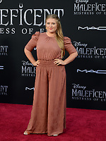 """LOS ANGELES, USA. September 30, 2019: Jaicy Elliot at the world premiere of """"Maleficent: Mistress of Evil"""" at the El Capitan Theatre.<br /> Picture: Jessica Sherman/Featureflash"""