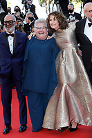 """CANNES, FRANCE - JULY 13: Roc Lafortune, Danielle Fichaud, Valerie Lemercier at the """"Aline, The Voice Of Love"""" screening during the 74th annual Cannes Film Festival on July 13, 2021 in Cannes, France. <br /> CAP/GOL<br /> ©GOL/Capital Pictures"""