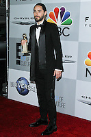 BEVERLY HILLS, CA - JANUARY 12: Jared Leto at the NBC Universal 71st Annual Golden Globe Awards After Party held at The Beverly Hilton Hotel on January 12, 2014 in Beverly Hills, California. (Photo by David Acosta/Celebrity Monitor)